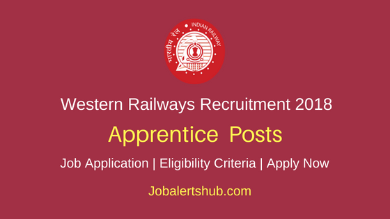 Western Railway 2018 Trade Recruitment For Re-Engagement – 6,898 Vacancies | 8th/ITI | Apply Now