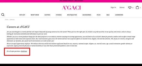 agaci store application