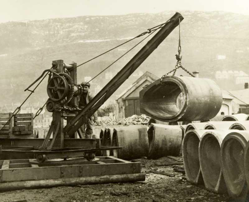 Bergen Bydrift historie
