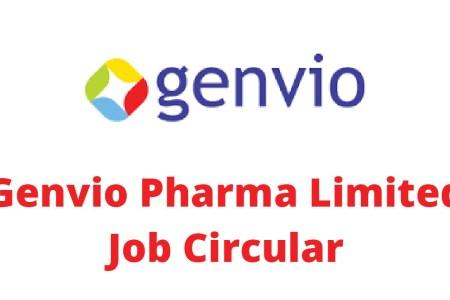 Genvio Pharma Limited Job Circular 2019 Application Process