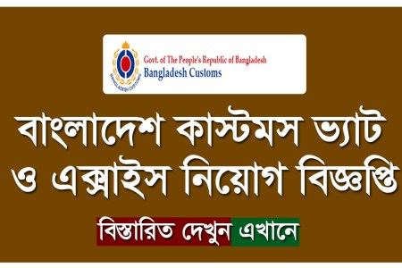 BD Customs Job Circular 2019 Apply Process -www.customs.gov.bd
