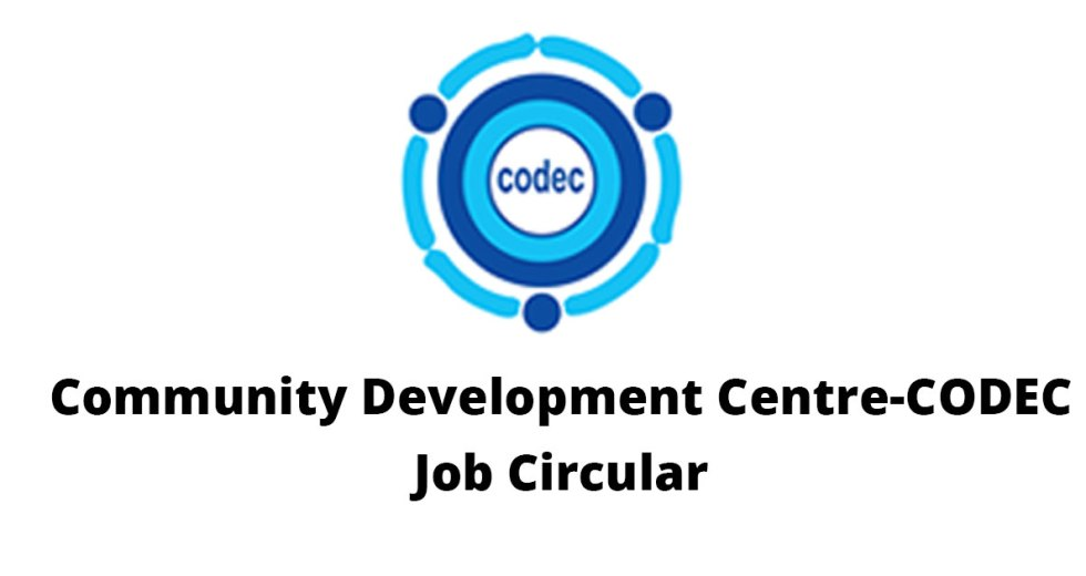 Community Development Center – CODEC Job Circular 2017
