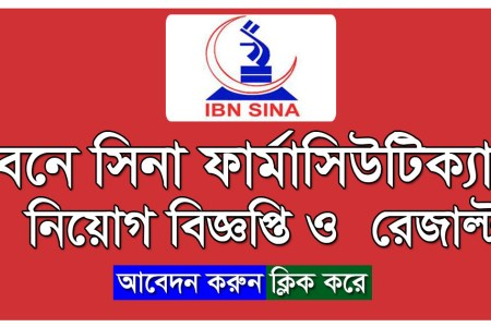 Ibn Sina Pharmaceutical Job Circular 2020 Application Form