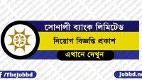 Sonali Bank Job Circular 2019 Apply Online – www.sonalibank.com.bd