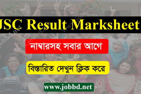 JSC Result Marksheet 2019 All Education Board JSC Marksheet 2019