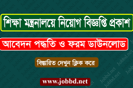 Ministry of Education Job Circular 2021 – www.moedu.gov.bd