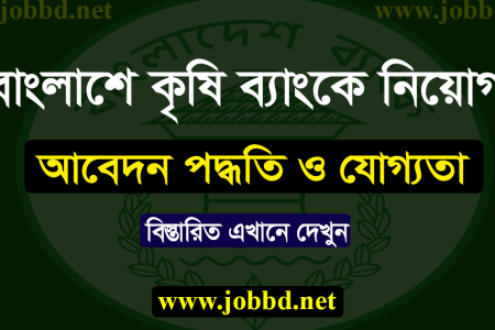 Bangladesh Krishi Bank Job Circular 2020 Online Apply Process