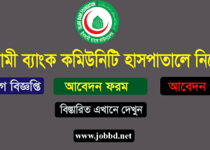 Islami Bank Community Hospital Job Circular 2018 – ibfbd.org
