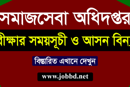 Department Of Social Service DSS Exam Date 2020 – www.dss.gov.bd