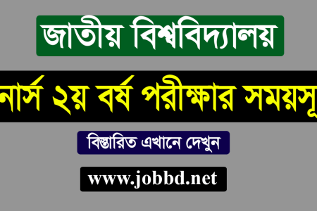 NU Honours 2nd Year Exam Routine 2021 – www.nu.edu.bd