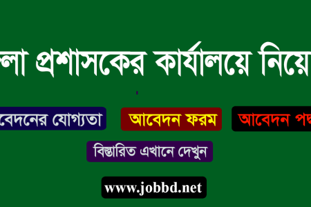 Netrokona District Commissioner Office Job Circular 2018