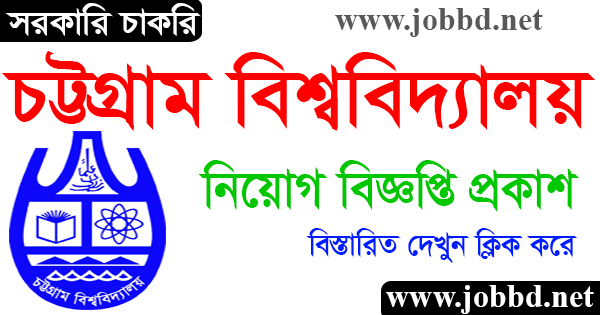 Chittagong University Job Circular 2021 Application Form Download