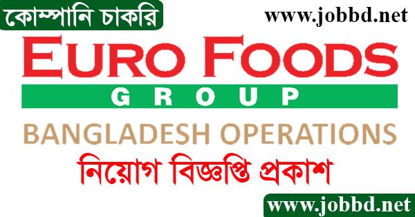 Euro Foods Group Job Circular 2021 Application Form Download
