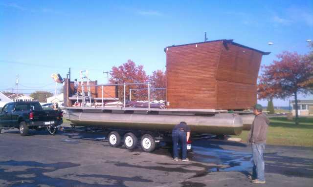 Jobbie Crew's custom Pirate Ship