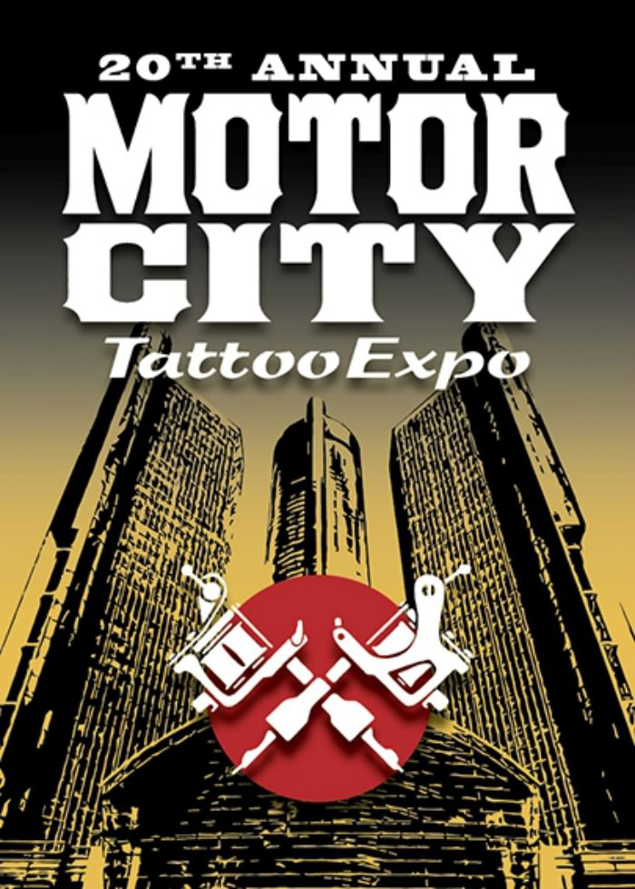 20th annual motor city tattoo expo march 6th 8th 2015 for Detroit tattoo convention 2017