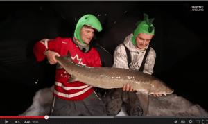Sturgeon Ice Fishing Slugfest