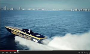 3,100HP 135MPH MERCEDES AMG CIGARETTE BLAST ACROSS THE WATER