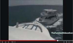 Amazing boat crashes