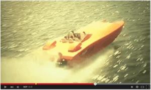 Hell Fire turbine boat