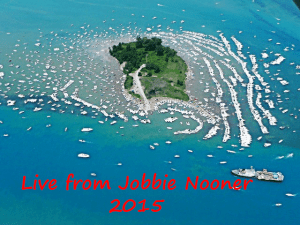 Live from Jobbie Nooner 2015!