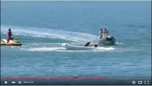 Run away RIB with dog only one left in boat
