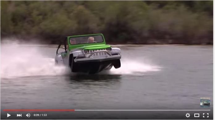 Watercar video