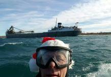 Wild Bill on the South Channel Christmas Eve 2015