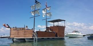 Charter the Mystic Maiden Lake St Clair's only Pirate Ship