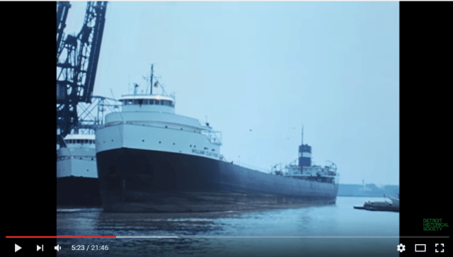 Ford motor company freighter