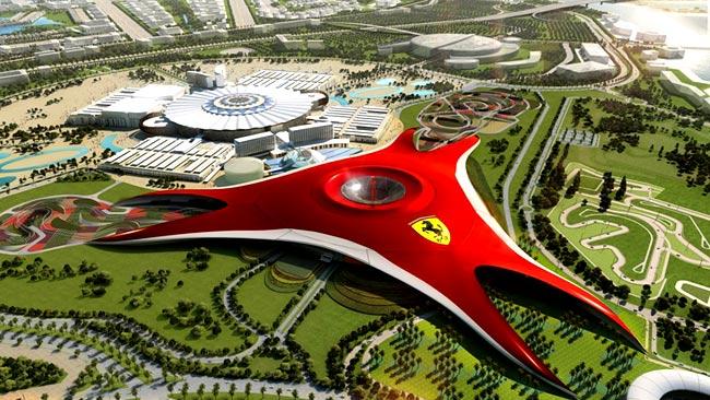 Ferrari World Theme Park! (Yas Island, Abu Dhabi) - JobbieCrew.com