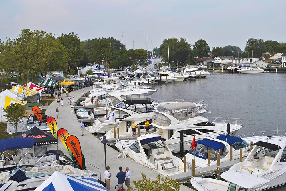 Metro Boat Show at Metro Beach