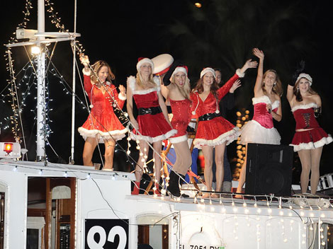 Worlds Largest Boat Parade 46th Annual Seminole Hard