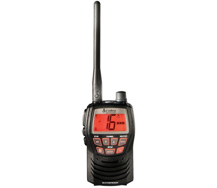 Cobra MRHH125 3 Watt Waterproof VHF Radio