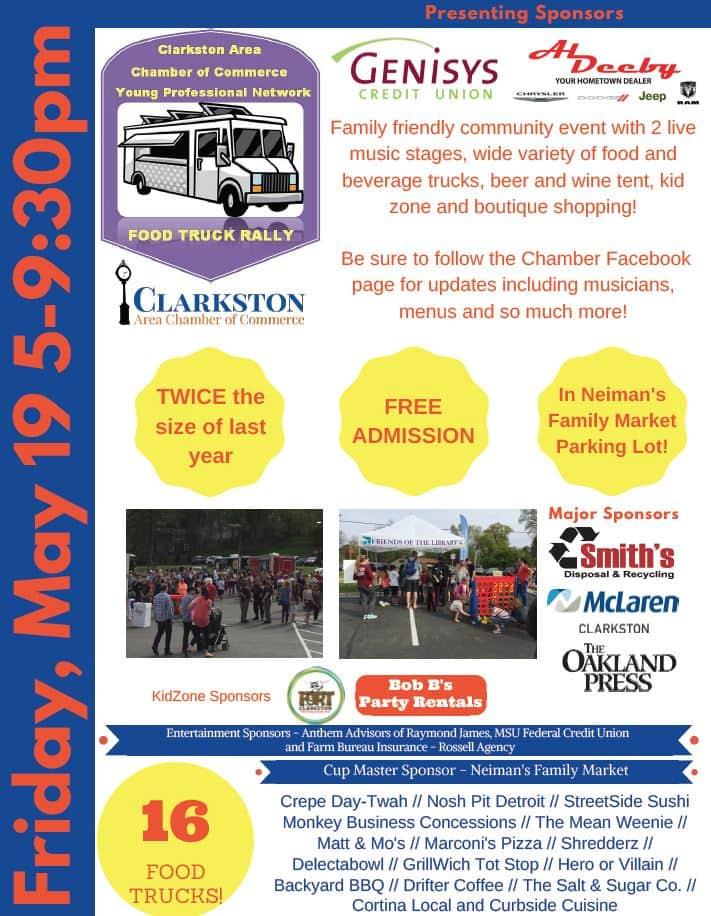 Clarkston food truck rally