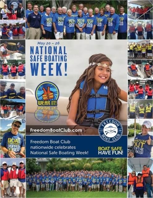 Freedom Boat Cub Promotes Safe Boating Week
