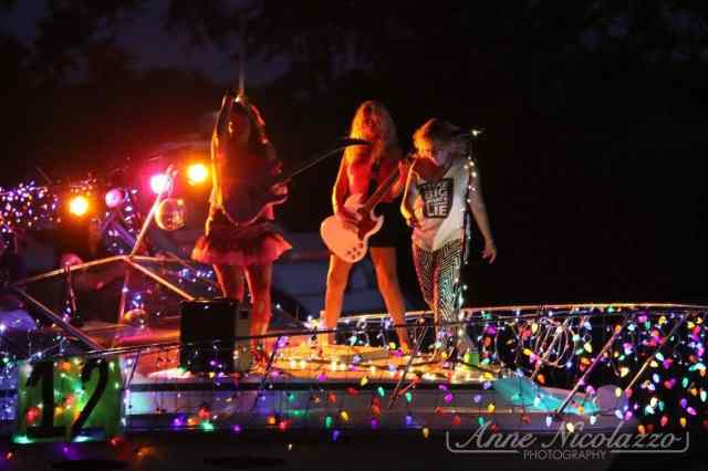 Parade of Lights on the Clinton River