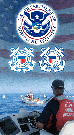 U.S. Coast Guard Auxiliary Agency Group Graphic
