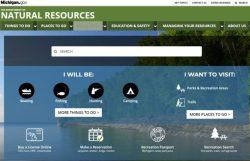 New Michigan.gov DNR site