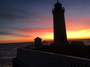South Channel Range Lights - Photo from Save Our South Channel Lights Facebook Page