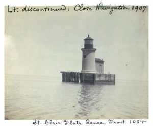 image of South channel lights 1904. Picture courtesy of soschannellights.org