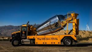 The Monkey Shoulder Mixer truck