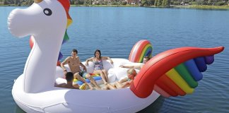 Sun Pleasure Party Bird Island Giant Unicorn Float