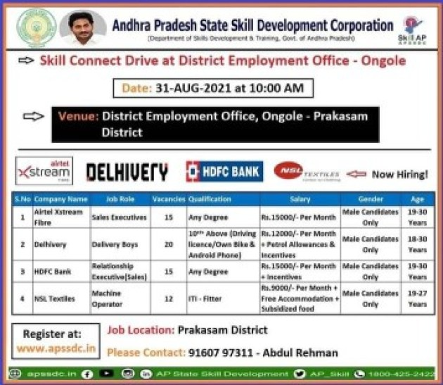 Jobs Recruitment 2021 || 4 Company Campus Placement