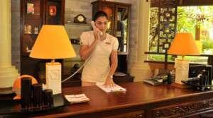 Spa Receptionist job description, duties, tasks, and responsibilities