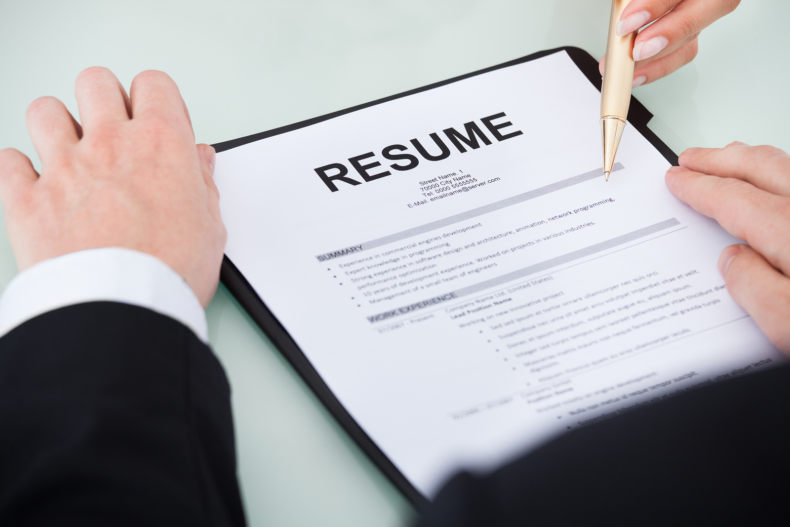 How To Write A Excellent Resume How To Write An Excellent Resume Work History