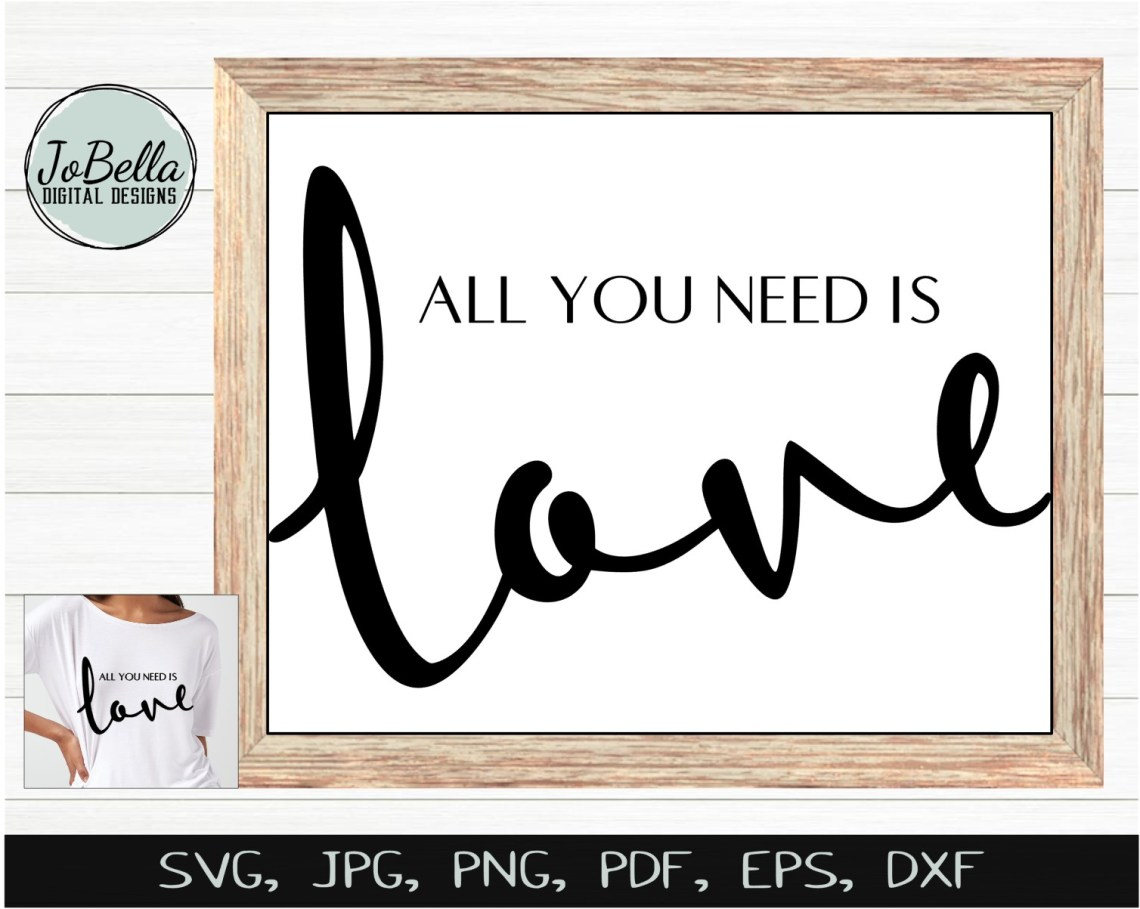 Download Beatles All You Need Is Love SVG and Printable - JoBella ...