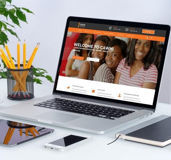 web design companies in ghana - CAWHI
