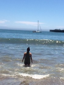 Mad in the Pacific in Santa Cruz.