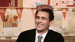james franco loved working at Mcdonalds