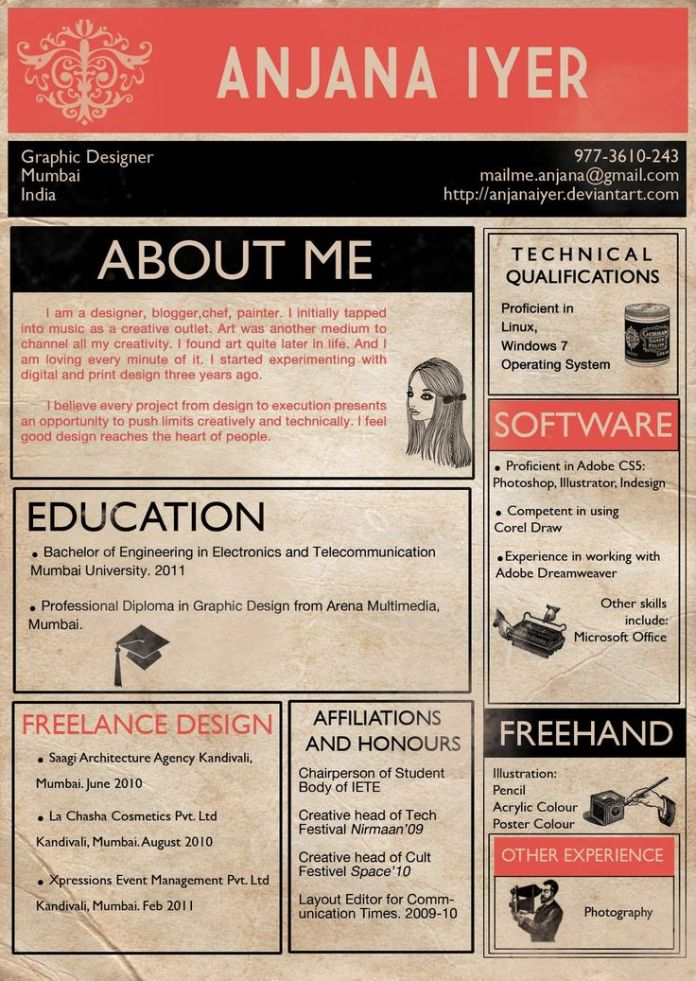 Resume The 4 Cardinal Rules Of Infographic R Sum S Practical Real